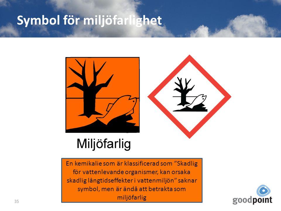 Symbol för miljöfarlighet