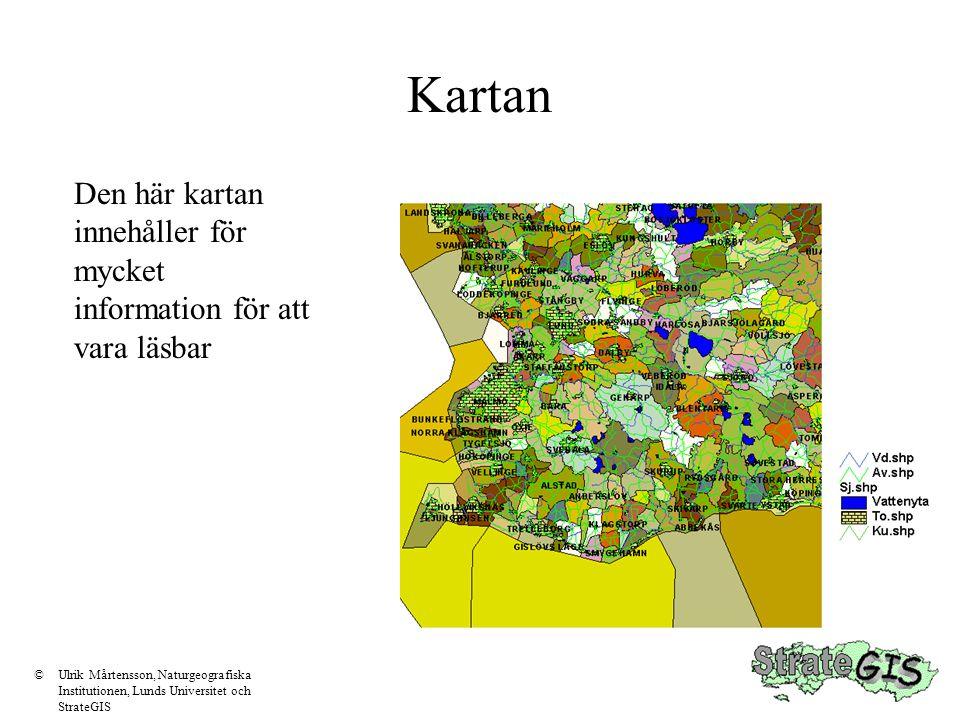 Kartan Den här kartan innehåller för mycket information för att vara läsbar.
