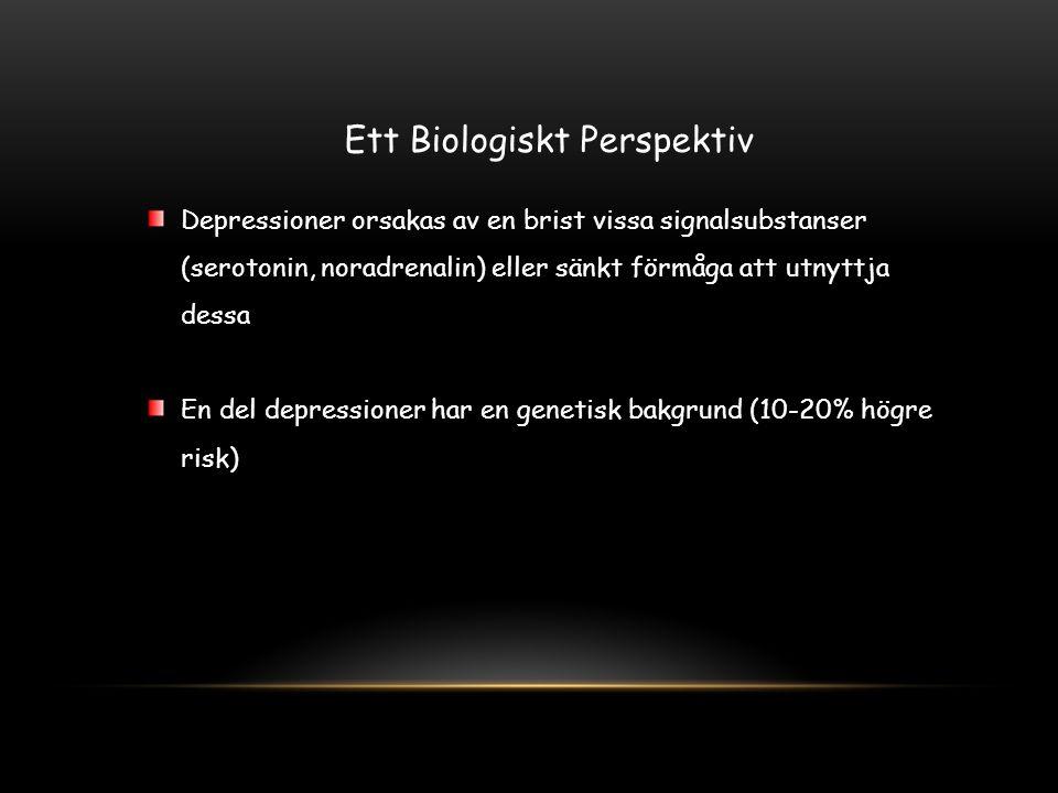 Ett Biologiskt Perspektiv
