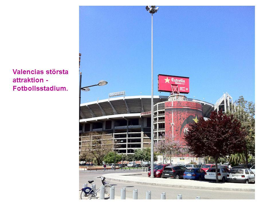 Valencias största attraktion -