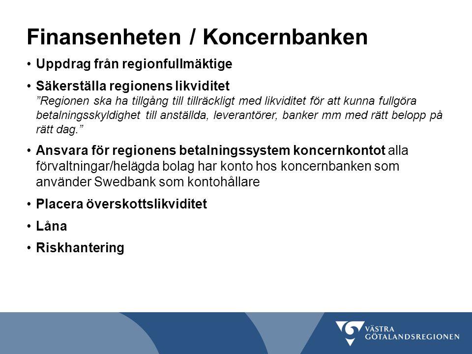 Finansenheten / Koncernbanken