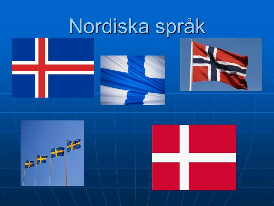 2017-04-08 2017-04-08 Nordiska språk 1