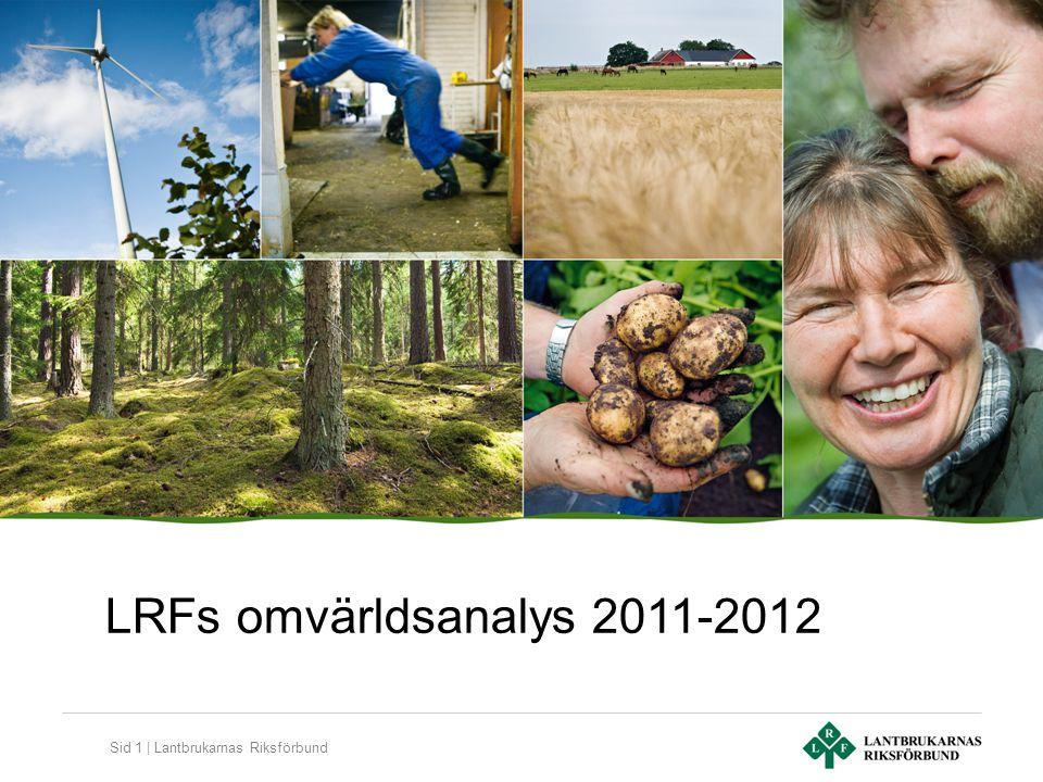 LRFs omvärldsanalys 2011-2012