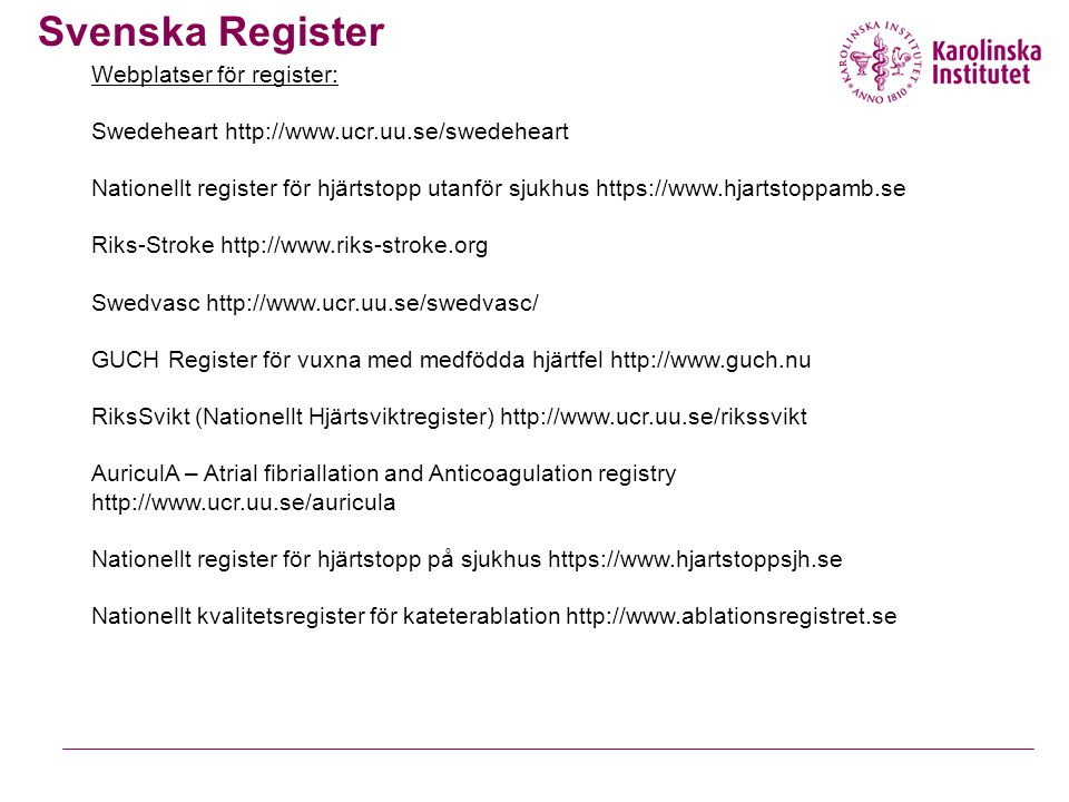 Svenska Register