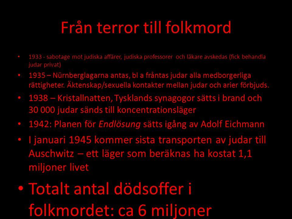 Från terror till folkmord