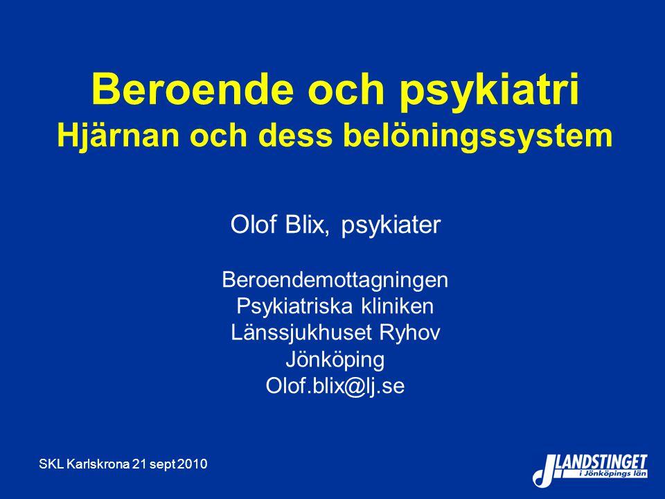Beroende och psykiatri