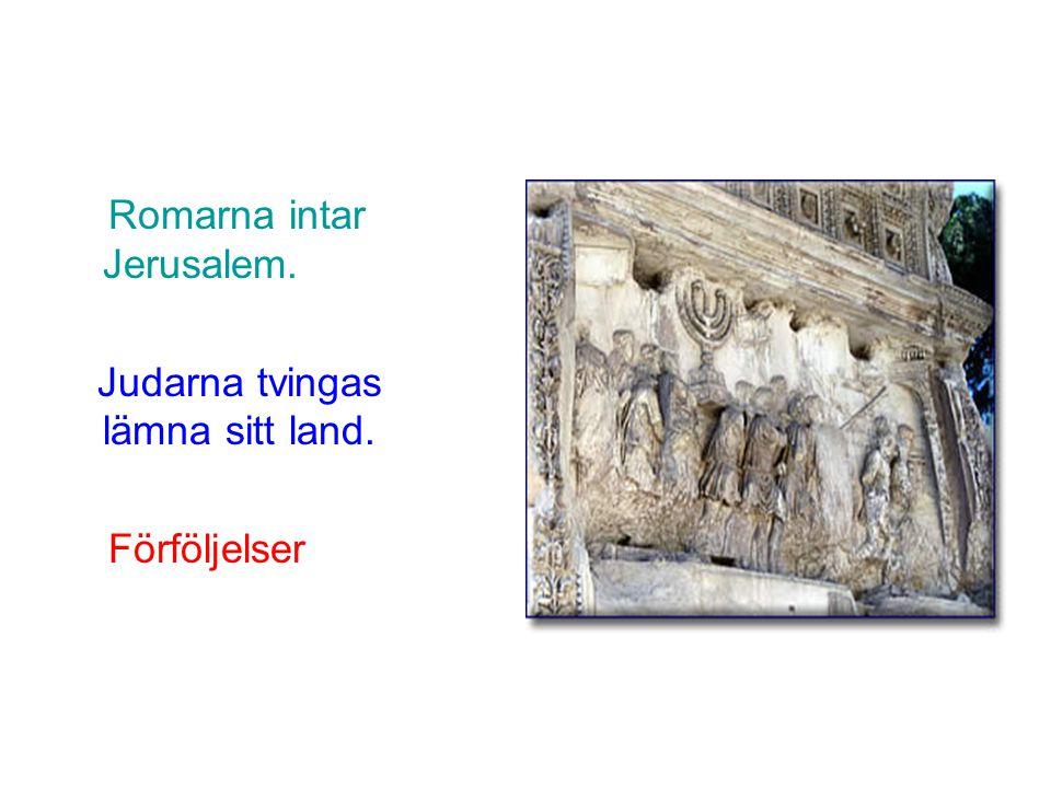 Romarna intar Jerusalem.
