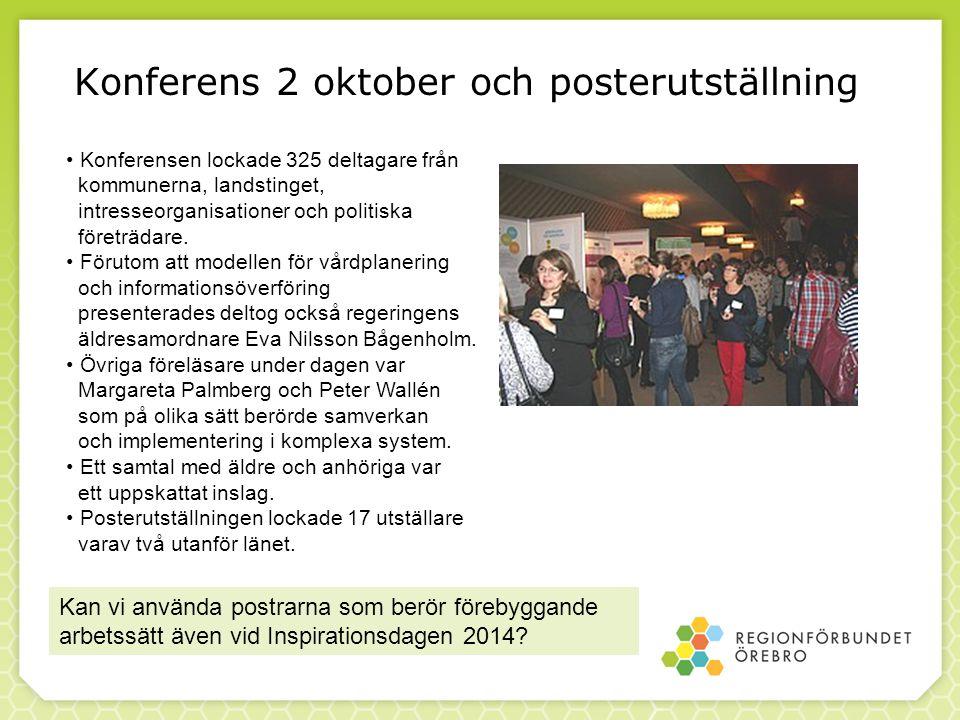 Konferens 2 oktober och posterutställning