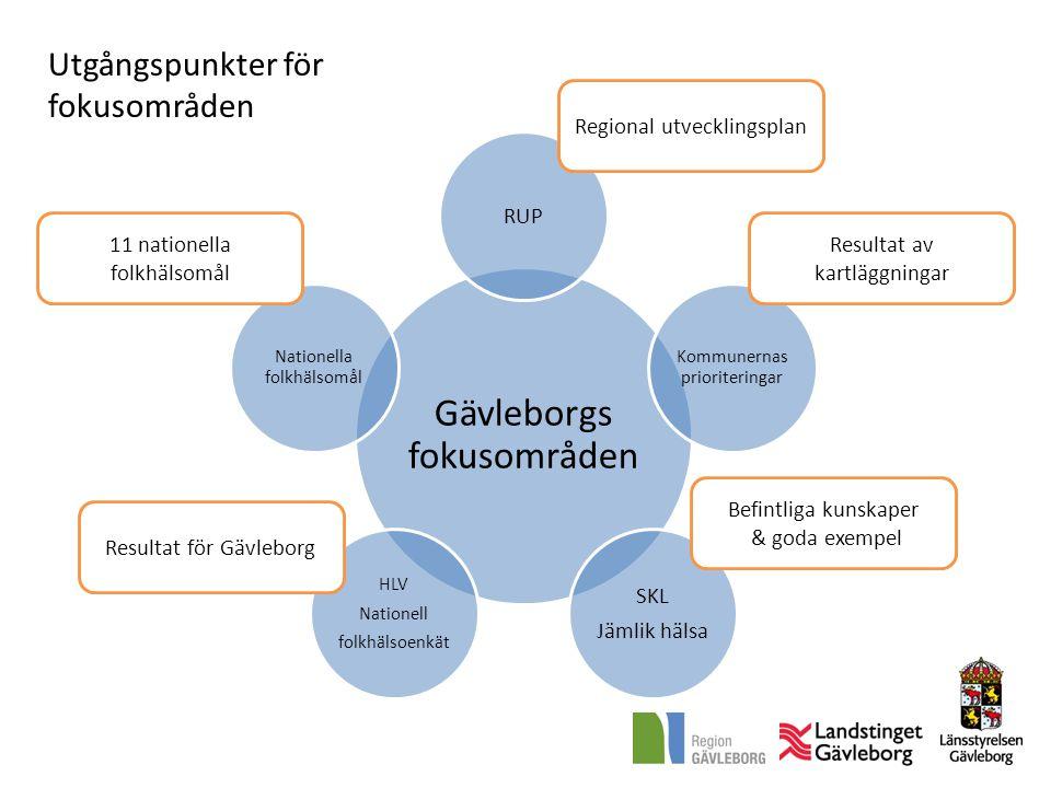 Gävleborgs fokusområden
