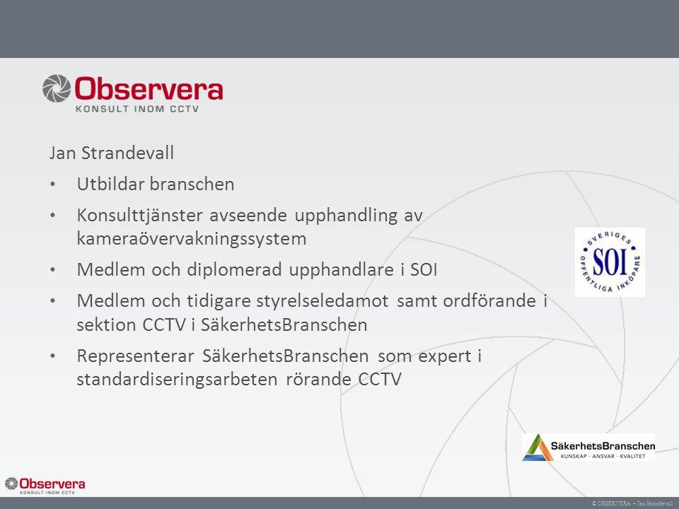 Konsulttjänster avseende upphandling av kameraövervakningssystem