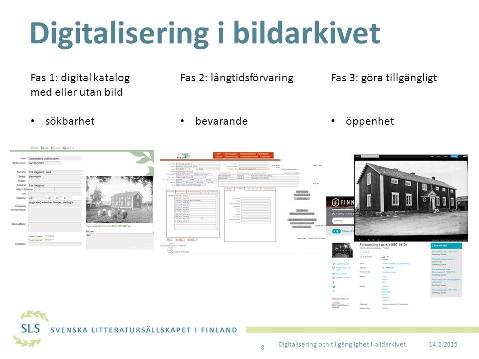 Digitalisering i bildarkivet