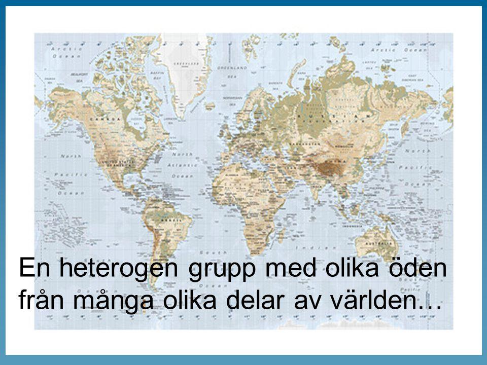 En heterogen grupp med olika öden