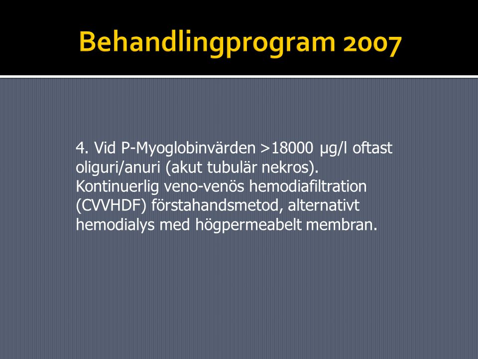 Behandlingprogram 2007