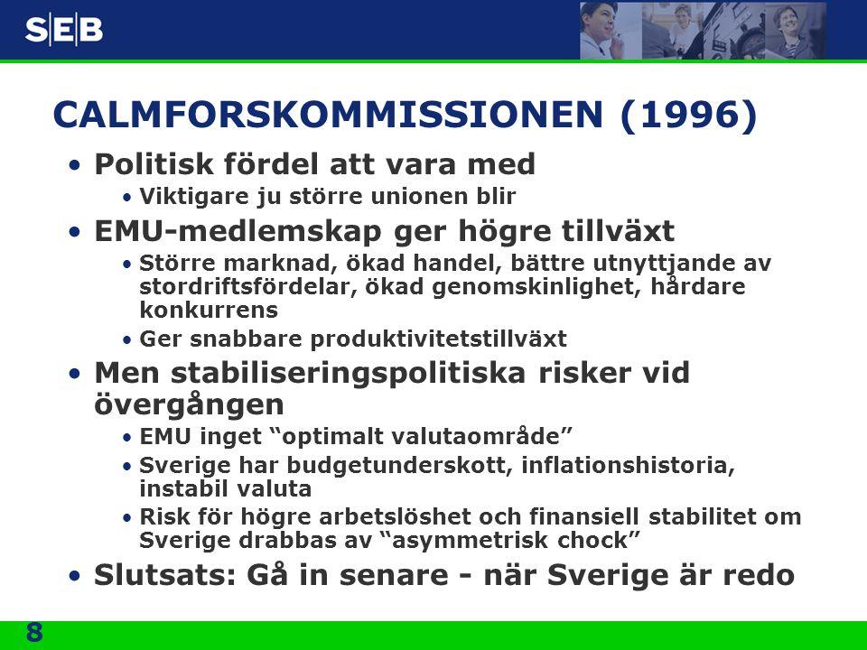 CALMFORSKOMMISSIONEN (1996)