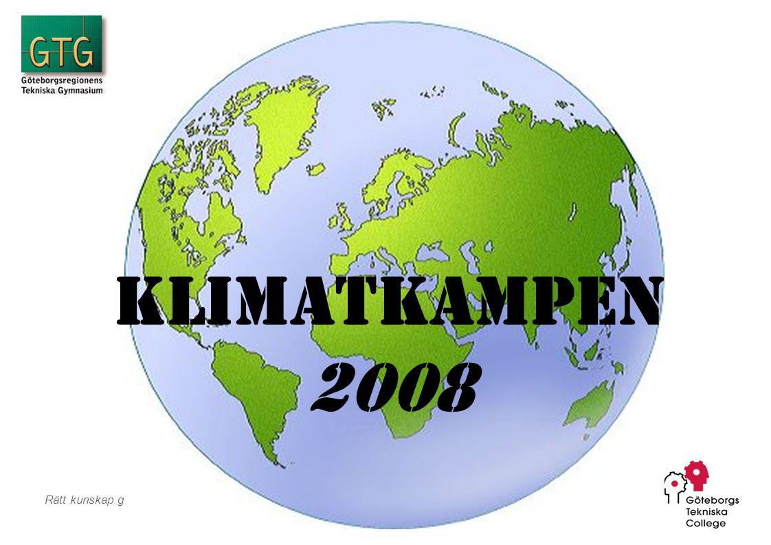 Klimatkampen 2008 Team