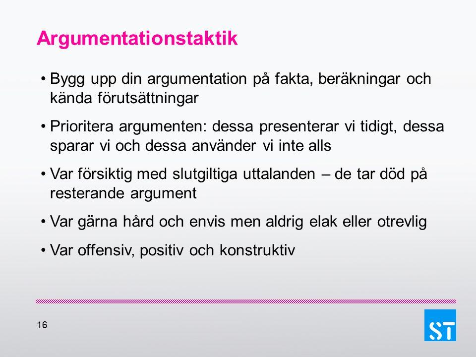 Argumentationstaktik