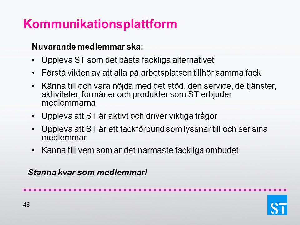 Kommunikationsplattform