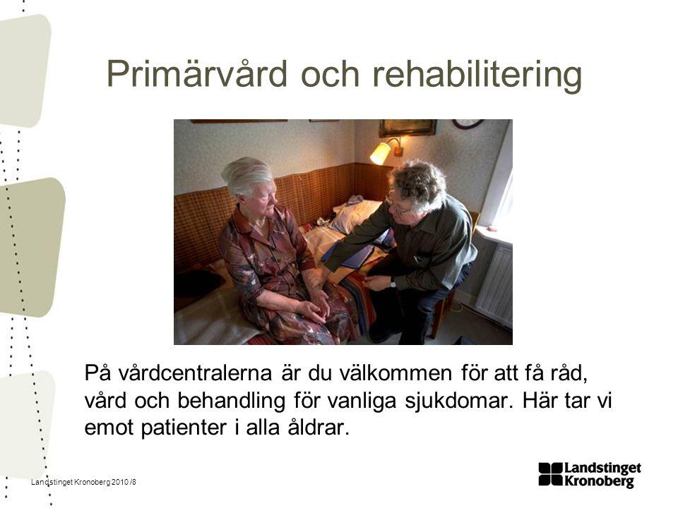 Primärvård och rehabilitering