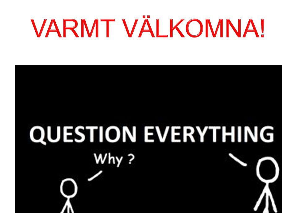 VARMT VÄLKOMNA!