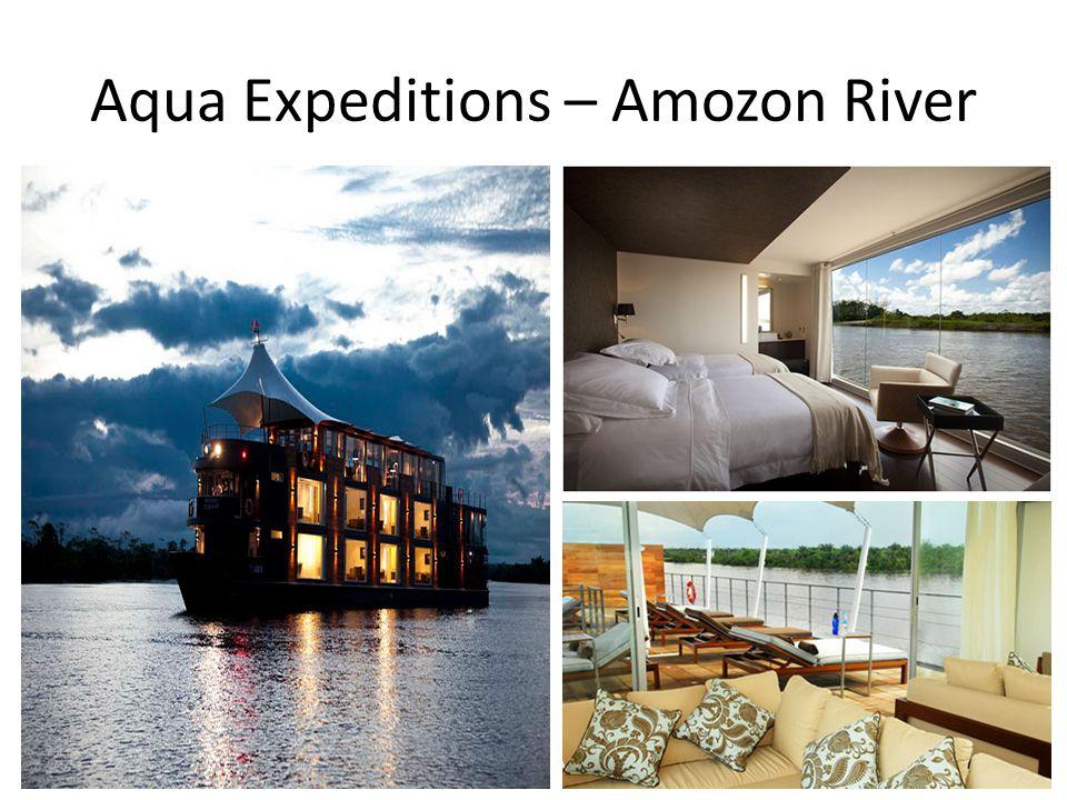 Aqua Expeditions – Amozon River