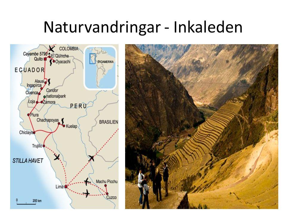 Naturvandringar - Inkaleden