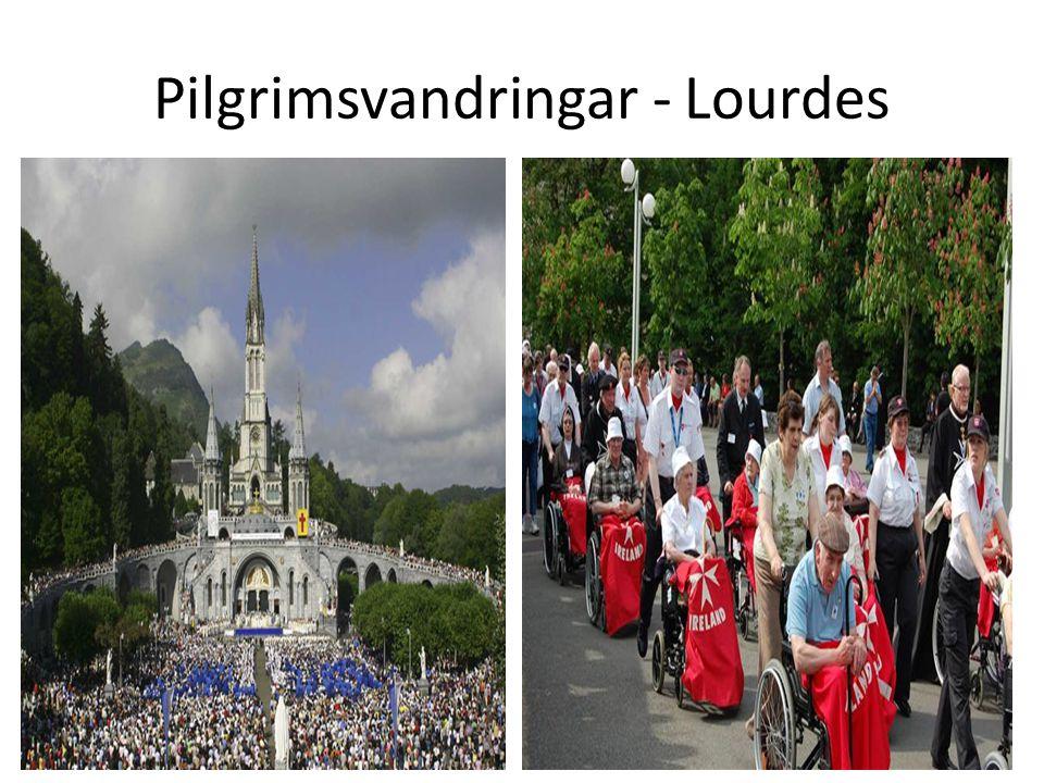 Pilgrimsvandringar - Lourdes