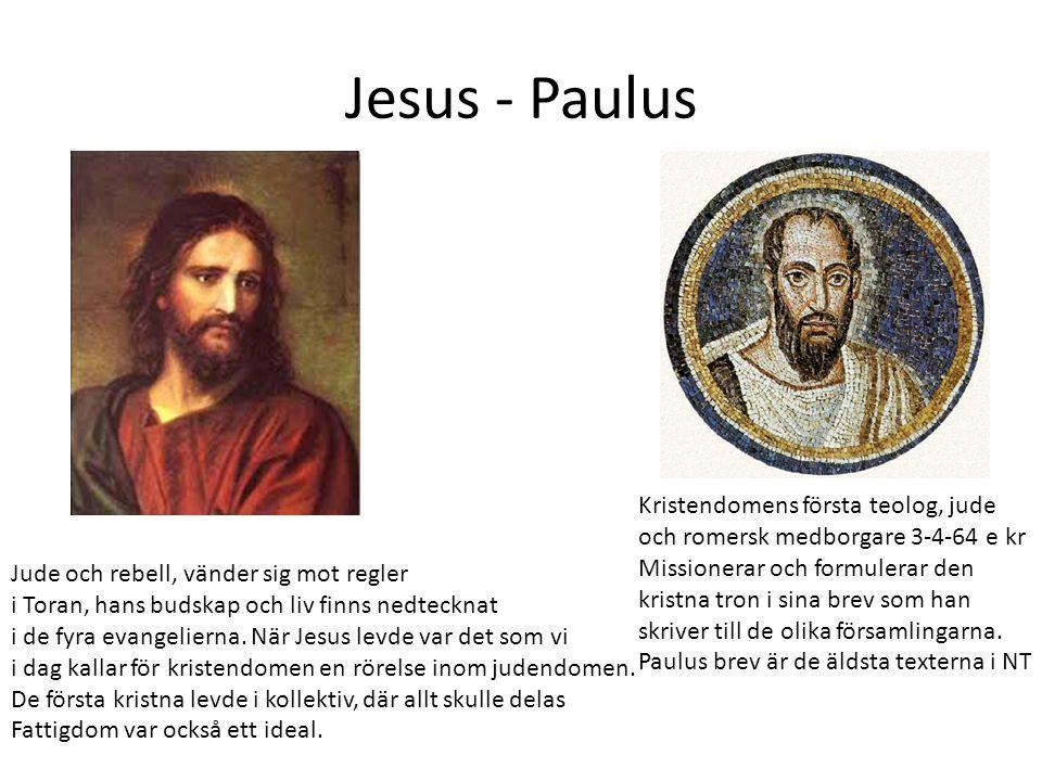 Jesus - Paulus Kristendomens första teolog, jude
