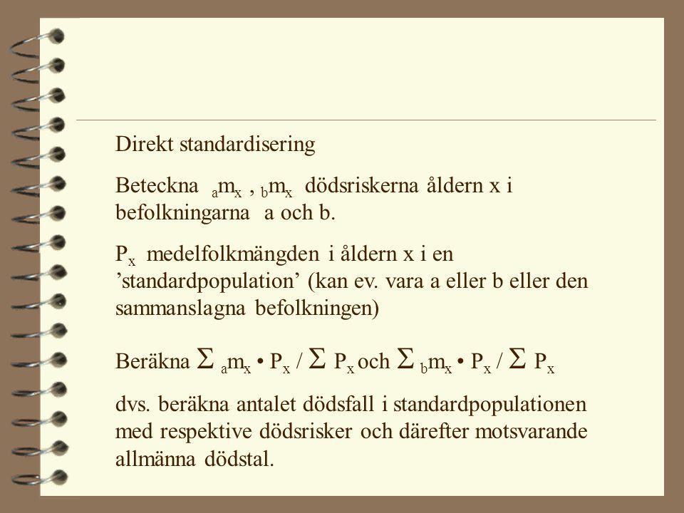 Direkt standardisering