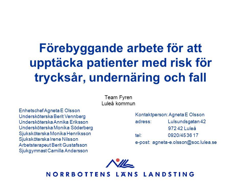 Team Fyren Luleå kommun