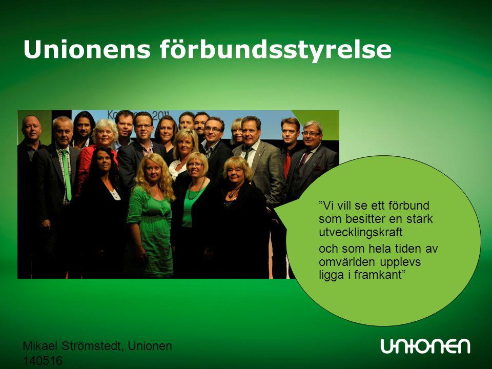Unionens förbundsstyrelse