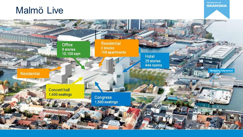 Malmö Live Malmö Live