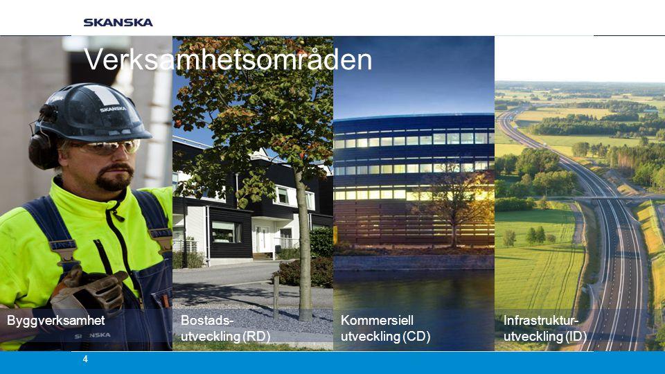 Verksamhetsområden Byggverksamhet Bostads- utveckling (RD)