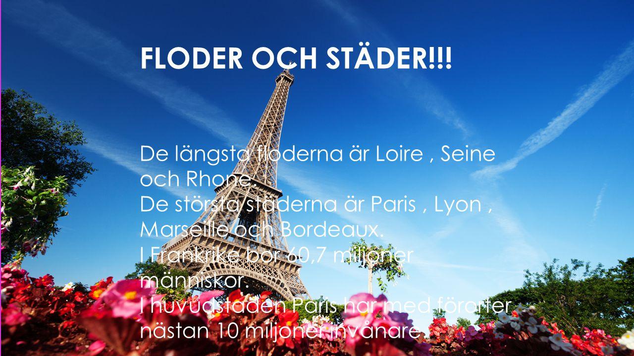 FLODER OCH STÄDER!!! FLODER OCH STÄDER!!!