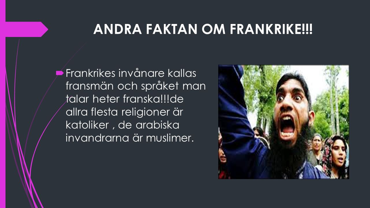 ANDRA FAKTAN OM FRANKRIKE!!!