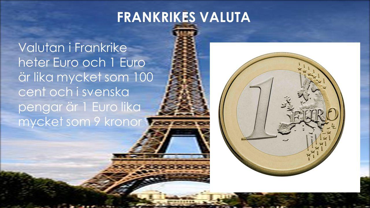 FRANKRIKES VALUTA FRANKRIKES VALUTA!!!