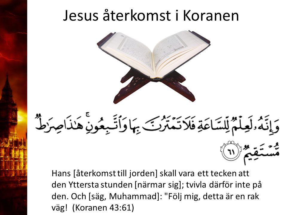 3. Delandet av månen Jesus återkomst i Koranen
