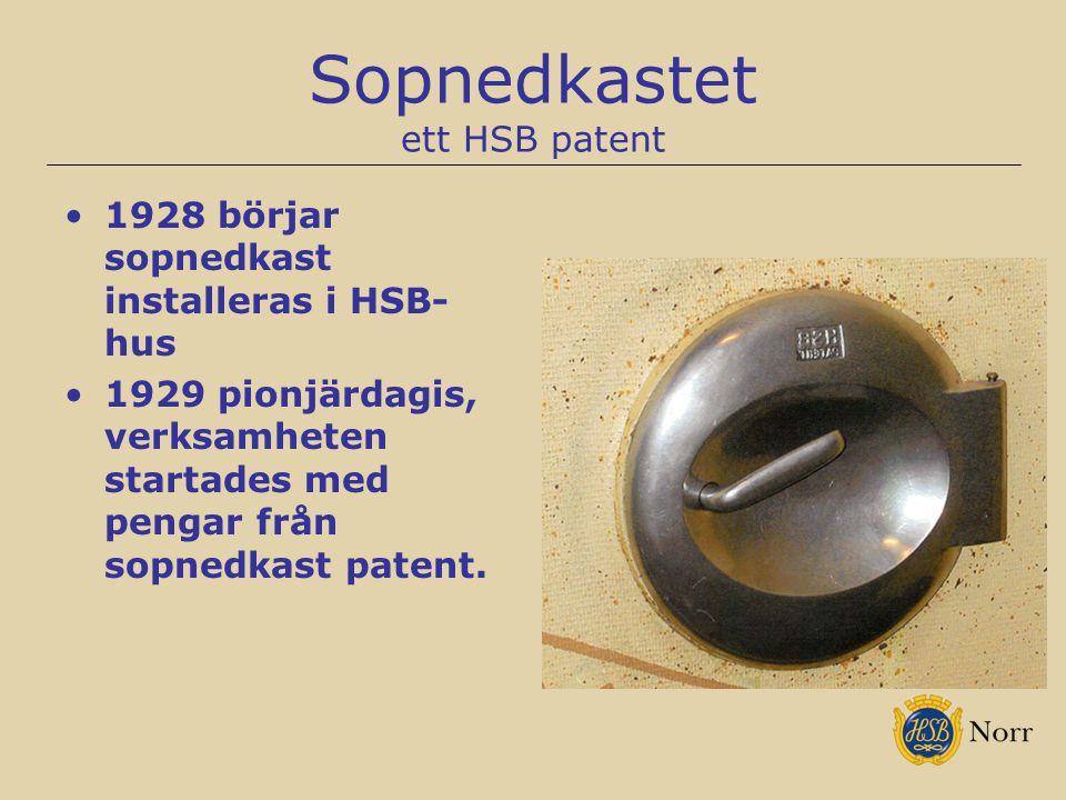 Sopnedkastet ett HSB patent