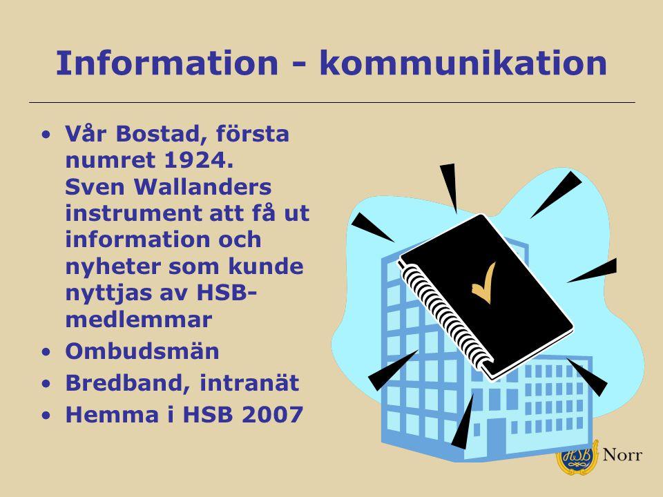 Information - kommunikation