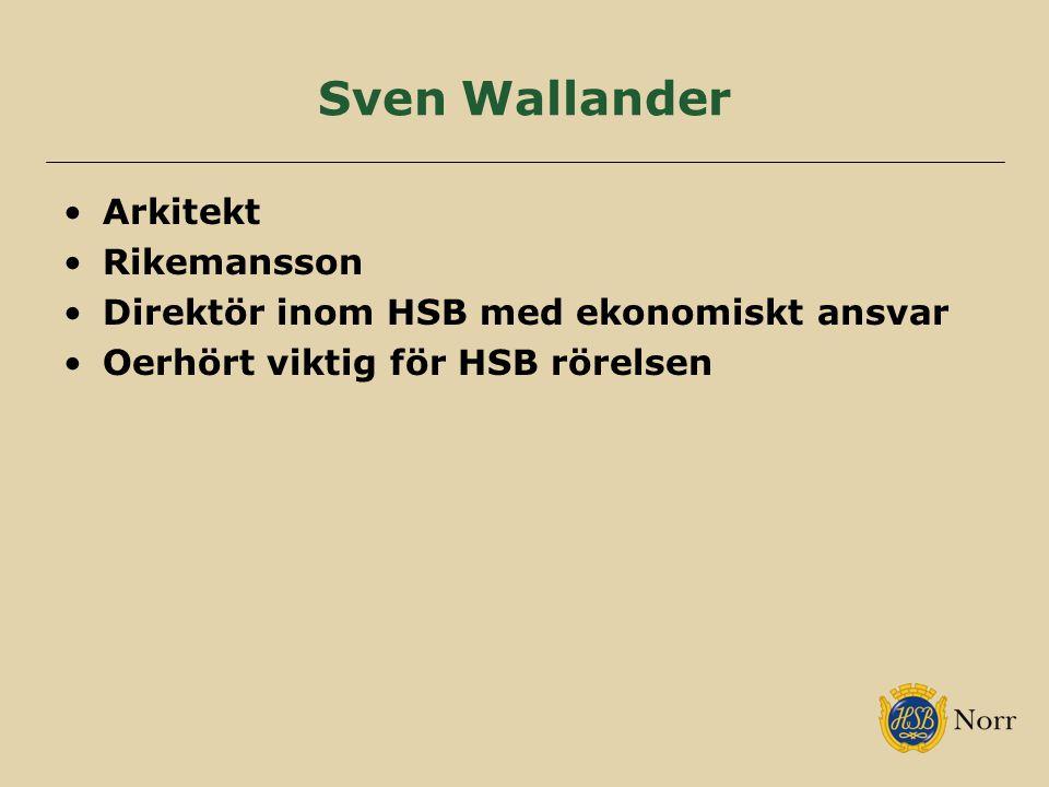 Sven Wallander Arkitekt Rikemansson
