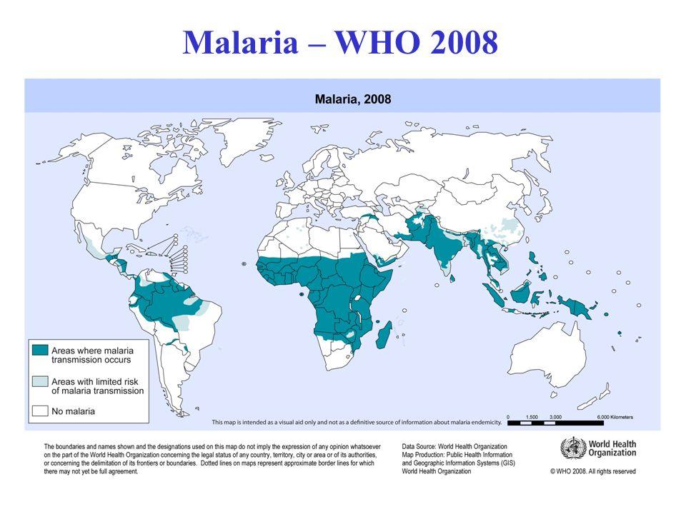 Malaria – WHO 2008