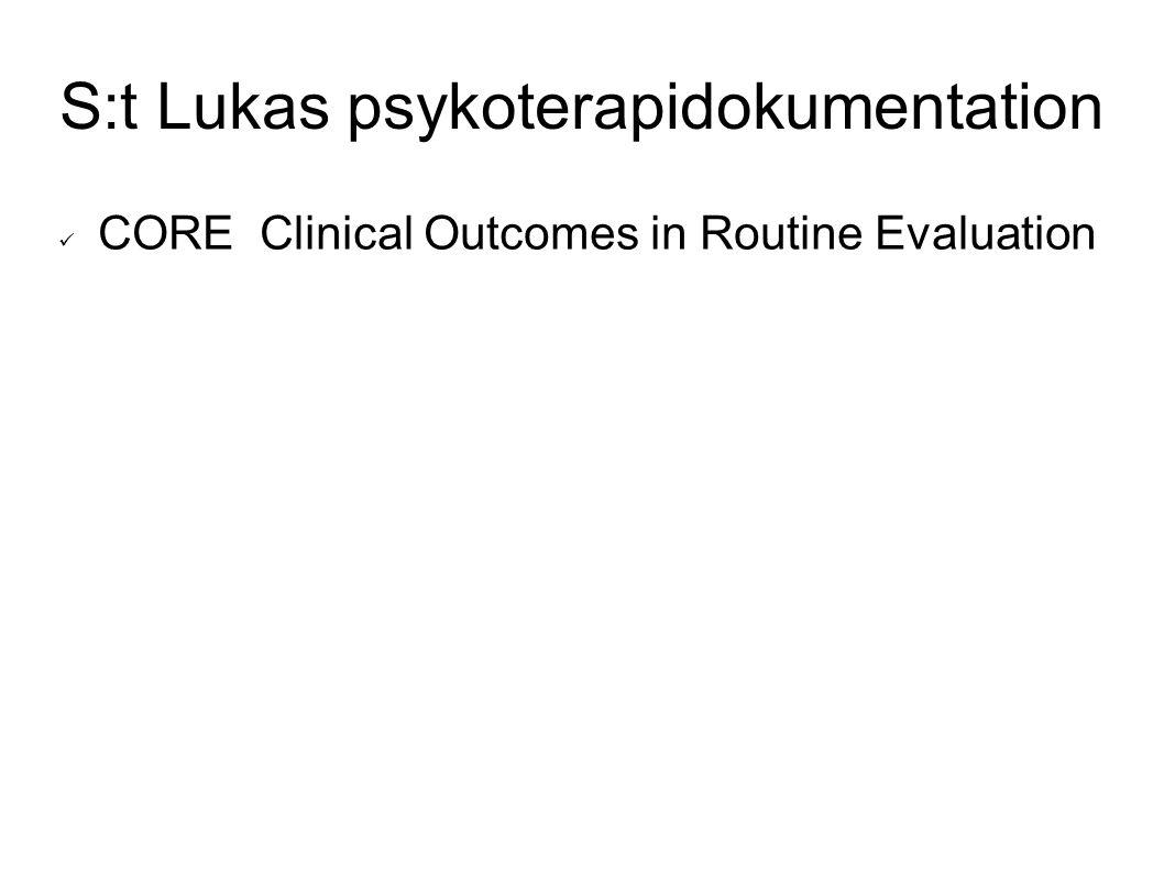 S:t Lukas psykoterapidokumentation