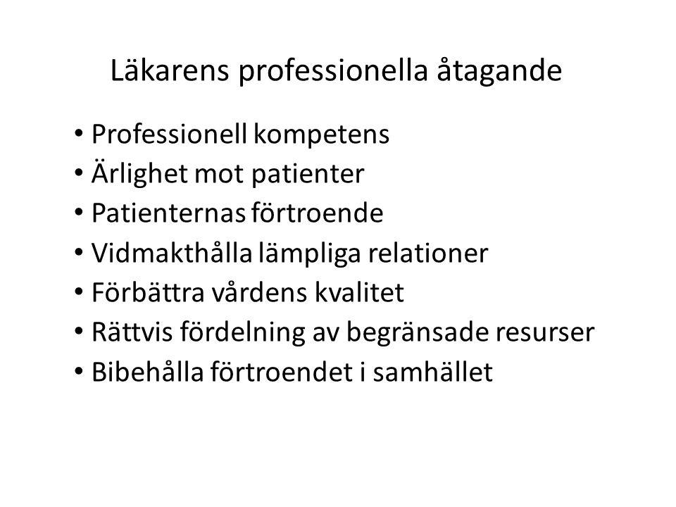 Läkarens professionella åtagande