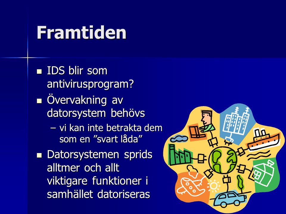 Framtiden IDS blir som antivirusprogram