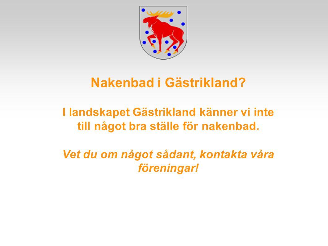 Nakenbad i Gästrikland