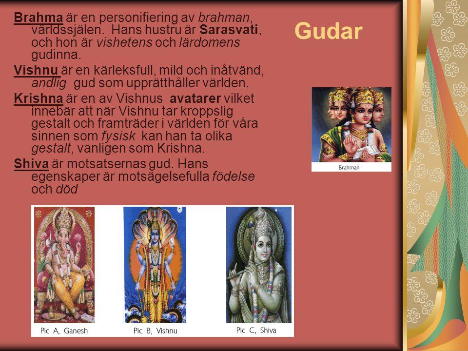 Brahma är en personifiering av brahman, världssjälen