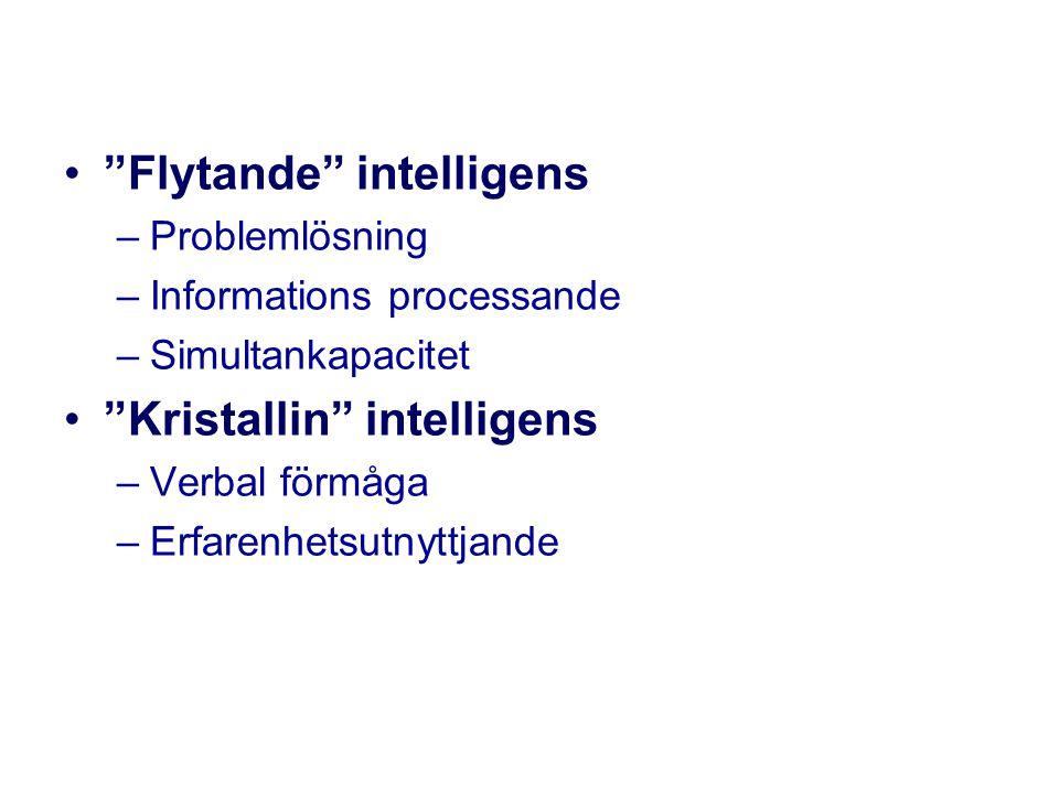 Flytande intelligens