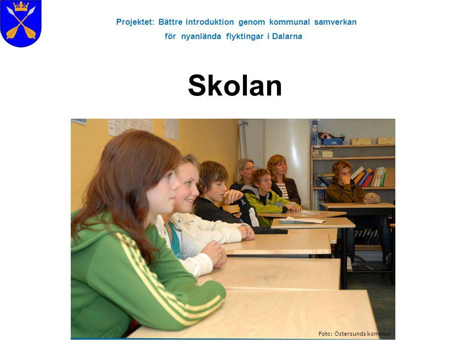Skolan Projektet: Bättre introduktion genom kommunal samverkan