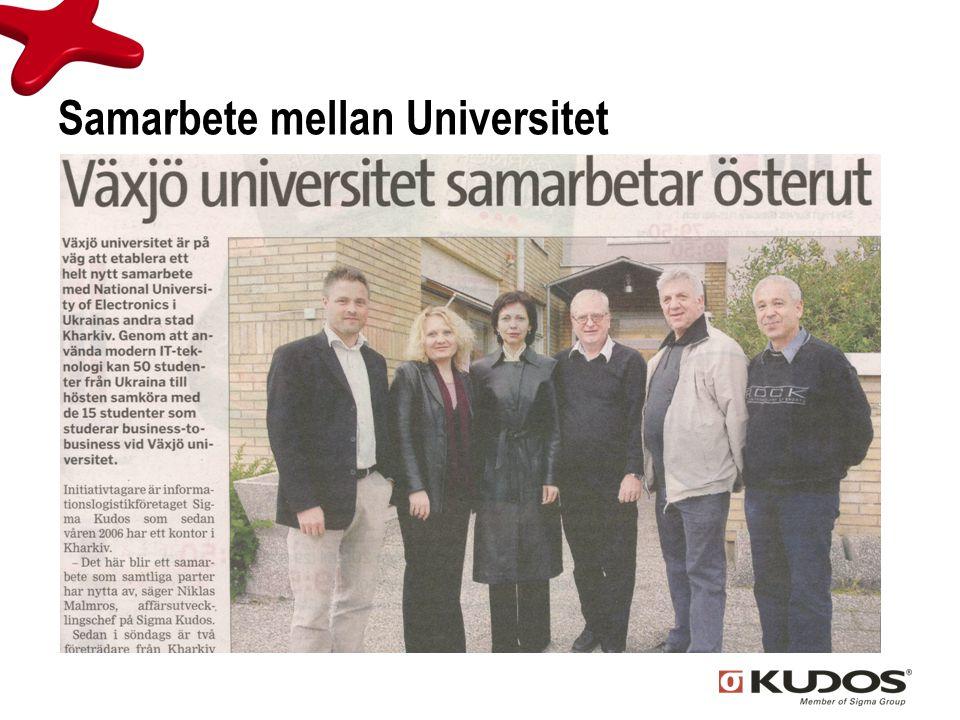 Samarbete mellan Universitet