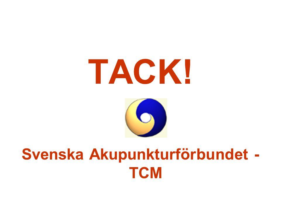Svenska Akupunkturförbundet - TCM