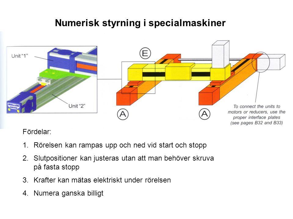 Numerisk styrning i specialmaskiner